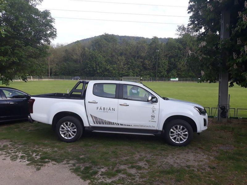Egyesületi támogatás keretében Isuzu D-Max pickup-t kapott a Viadukt SE