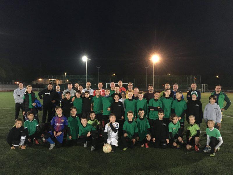 U12-es és U13-as kiemelt bajnokságban szereplő korosztályaink csapat összetartáson vettek részt