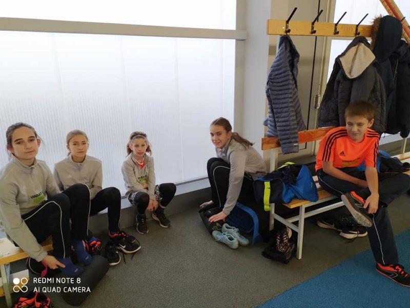 MTK Mikulás Kupa rúdugró versenyen vettünk részt