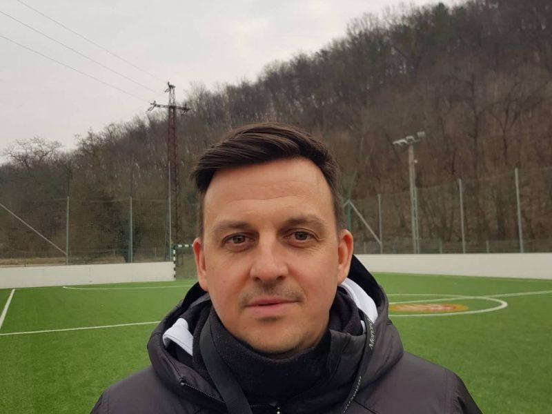 Bemutatjuk az egyesületünkhöz télen érkező utánpótlás edzőnket, Guta Jánost
