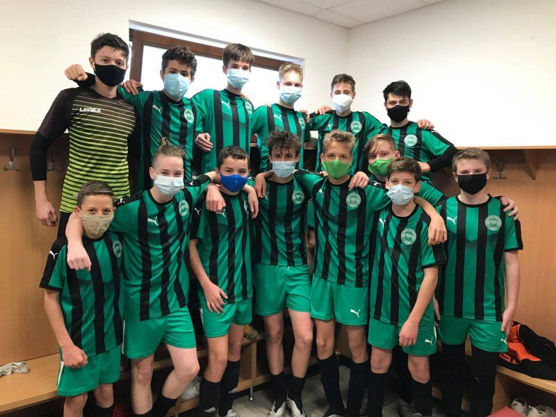 Gólzáporos győzelemmel tért haza Iváncsáról U15-ös csapatunk