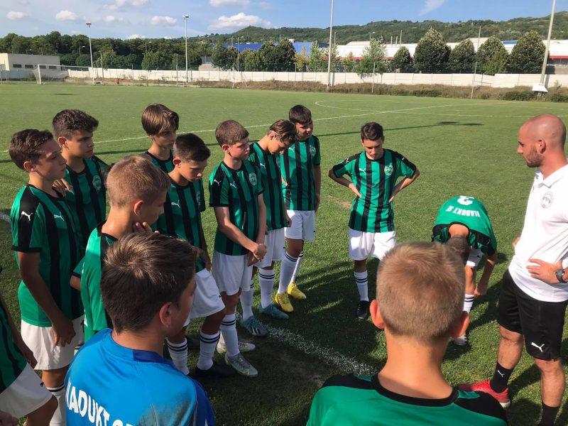 Elkezdték a felkészülést U14-15-ös labdarúgóink