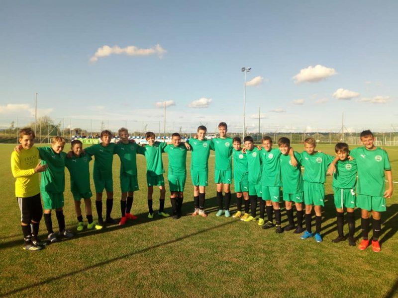 Győzelemmel rajtolt U14-es csapatunk 🟢